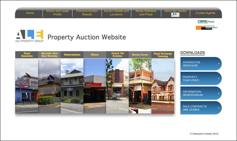 ALE Property Auction Website