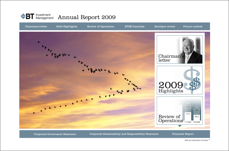 BT Investment Management Annual Report 2009