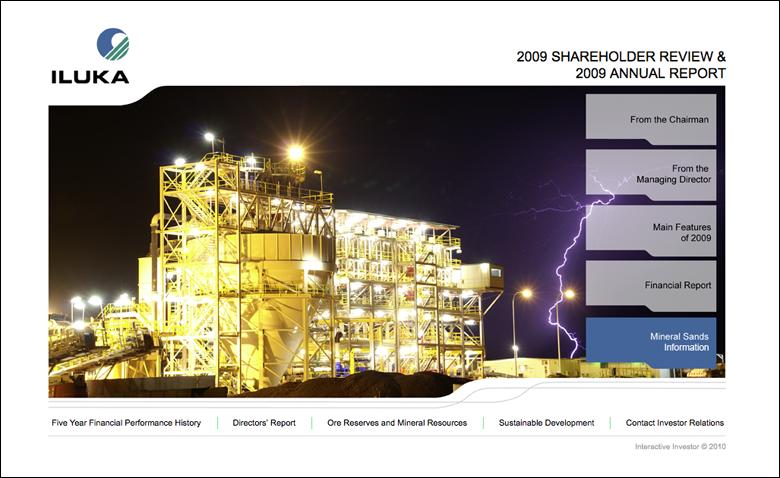 Iluka Annual Report 2009