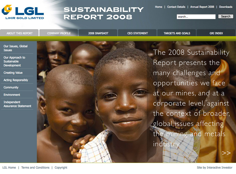 Lihir Gold Limited Sustainability Report 2008