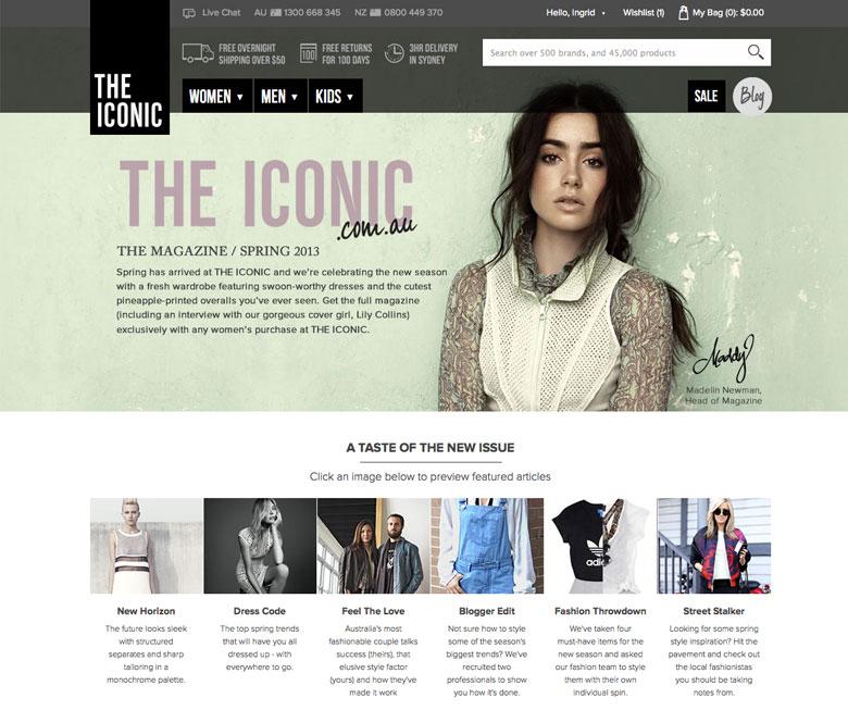 THE ICONIC Magazine Spring 2013