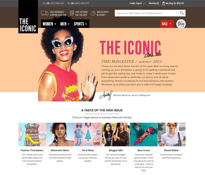 THE ICONIC Magazine Summer 2013