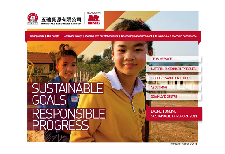 Minminerals Resources Sustainability Report 2011