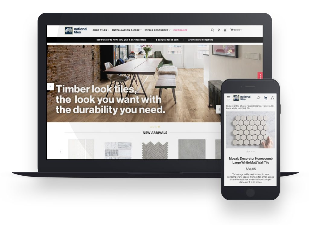 National Tiles website
