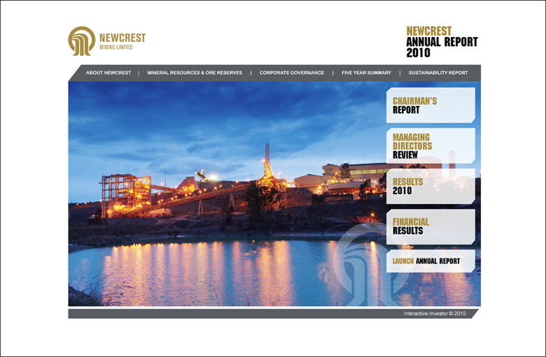 Newcrest Mining Annual Report 2010