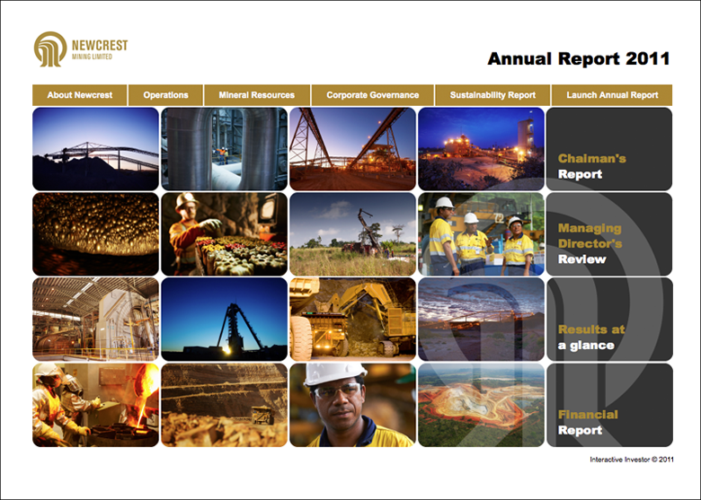 Newcrest Mining Annual Report 2011